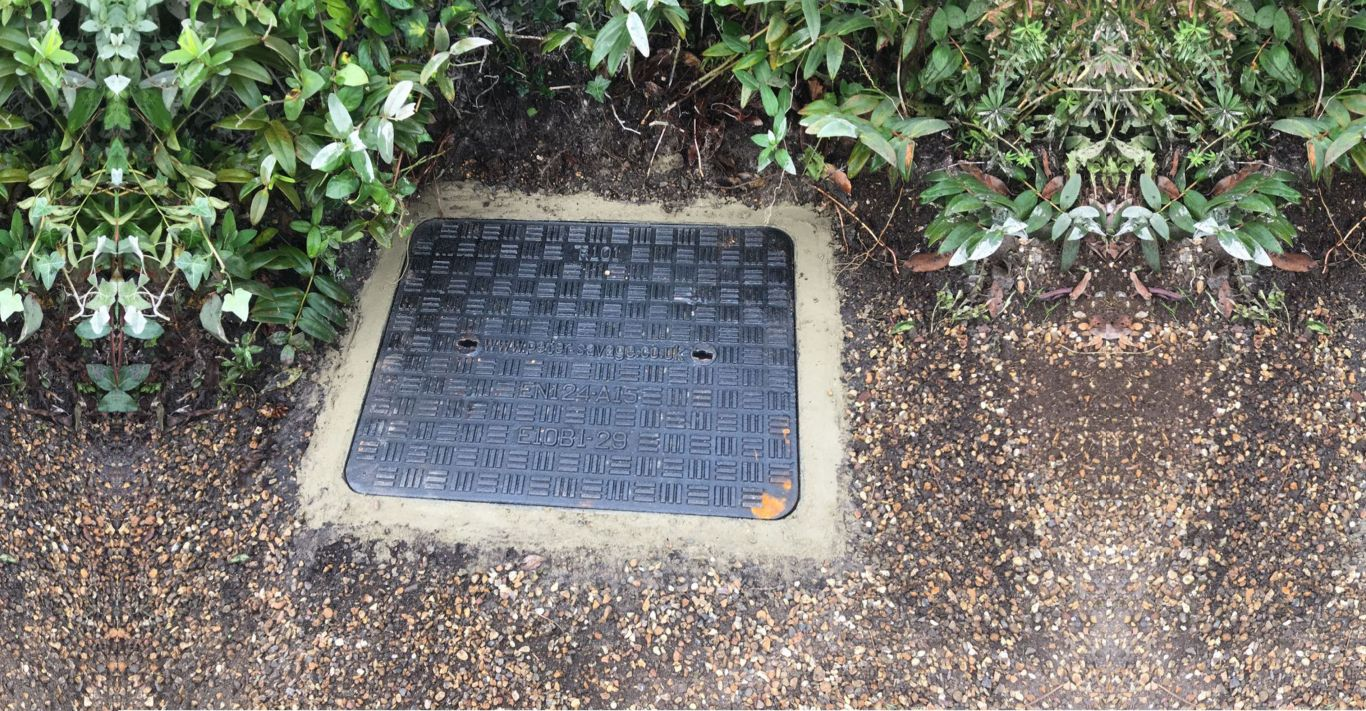 New manhole covers